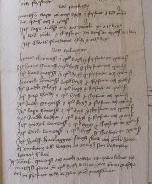 Jordebog o. Heldager 1464