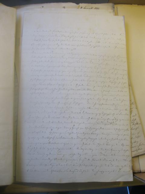 Pastor M.G. Krag skoleforslag 7.3. 1842